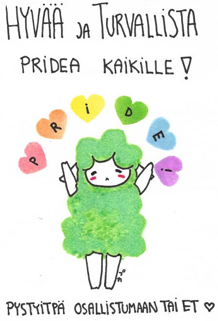 Hyvää Pridea! (1.7.2017)